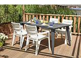 Комплект садових меблів  Ibiza Set with Lima - Melody Table (Keter), фото 8