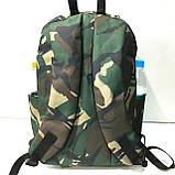 Рюкзаки спортивные камуфляж Nike (светлый коричневый)28*40см, фото 4