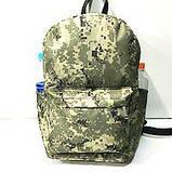 Рюкзаки спортивные камуфляж Nike (светлый коричневый)28*40см, фото 2