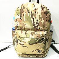 Рюкзаки спортивные камуфляж Nike (светлый коричневый)28*40см