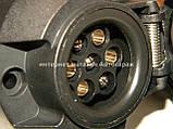 Розетка фаркова прицепа (7 контактов + проводка) BOSAL (Бельгия) 010178, фото 3