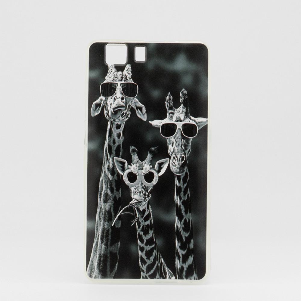 Чехол Print для Doogee X5 / X5 pro / X5s силиконовый бампер giraffes