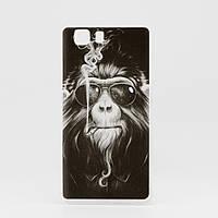 Чехол Print для Doogee X5 / X5 pro / X5s силиконовый бампер monkey