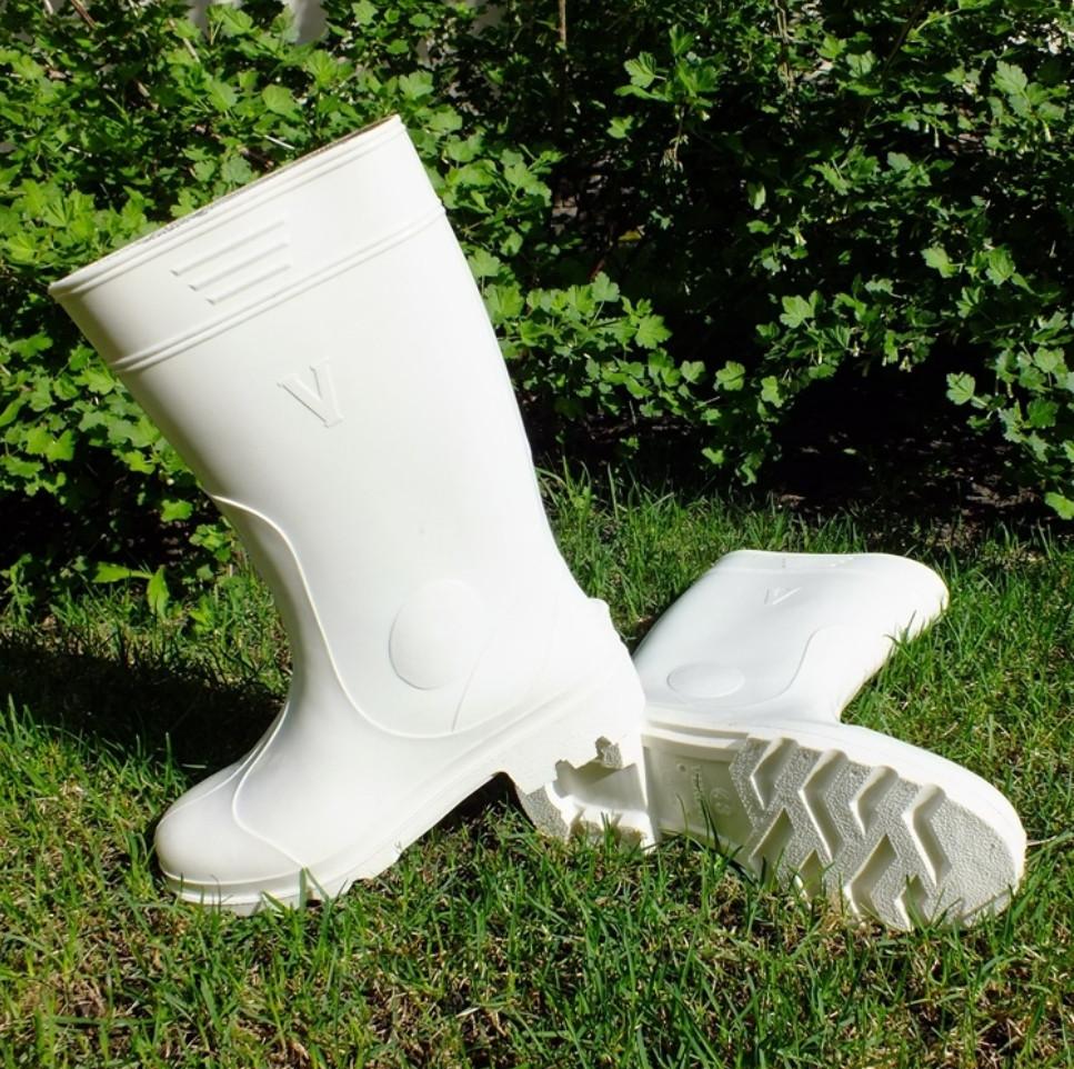 Сапоги силиконовые Белые