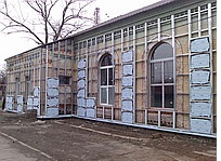 Подконструкция для вентилируемых фасадов