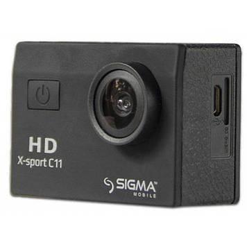 Экшн-камера Sigma Mobile X-sport C11 black (4827798324110)