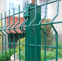Забор 3D сварной сетка со столбами и крепежом панельный Техна 4/3мм 930 х 2500