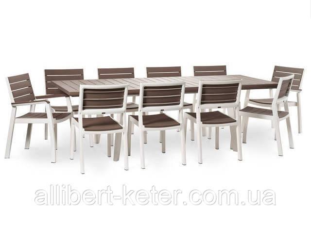 Комплект садових меблів Harmony Extendable Dining Set ( Keter )