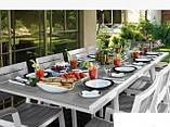 Комплект садових меблів Harmony Extendable Dining Set ( Keter ), фото 8