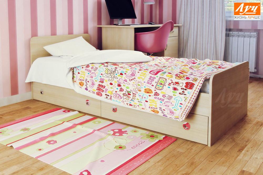 """Кровать подростковая """"Луиджи"""""""