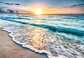 Фотообои готовые Wizard+Genius 368x254 см Волшебный закат и море (11040CN)