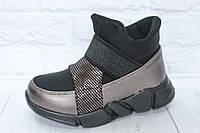 Демисезонные ботинки на девочку тм Солнце, р. 26,30, фото 1