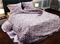 Полуторное постельное белье бязь gold - Вензель латте