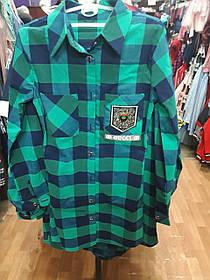 Туника-рубашка для девочек