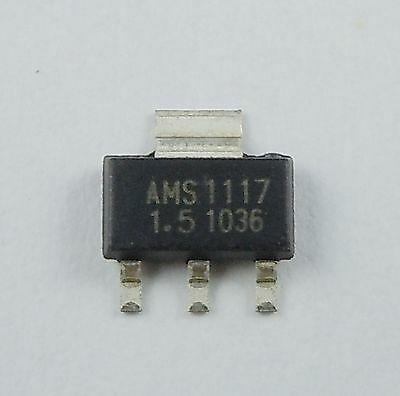 Микросхема AMS1117-1.5V AMS1117-1.5V AMS1117  в ленте