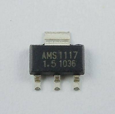 Микросхема AMS1117-1.5V AMS1117-1.5V AMS1117  в ленте, фото 2