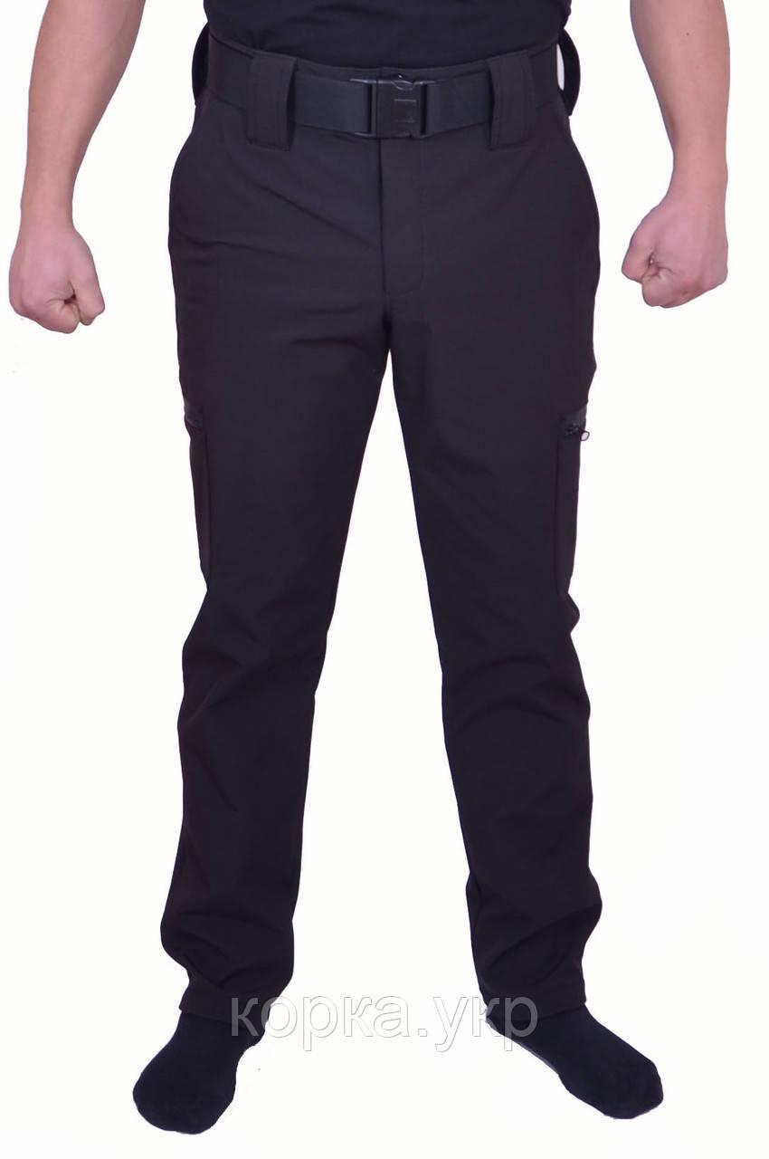 Мембранные штаны Softshell (Софтшел) Черные