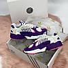 """Женские кроссовки Adidas yung 1 """"Violet"""" (в стиле Адидас ), фото 6"""