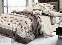 Полуторное постельное белье бязь gold - Укроп