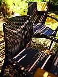 Комплект садових меблів BALI MONO - MELODY (4+1) темно-коричневий (Keter), фото 8
