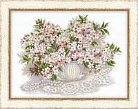 Набор для вышивки крестом Риолис 100/034 Вишневый цвет