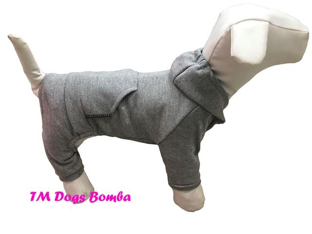 Трикотажные костюмы для собак.