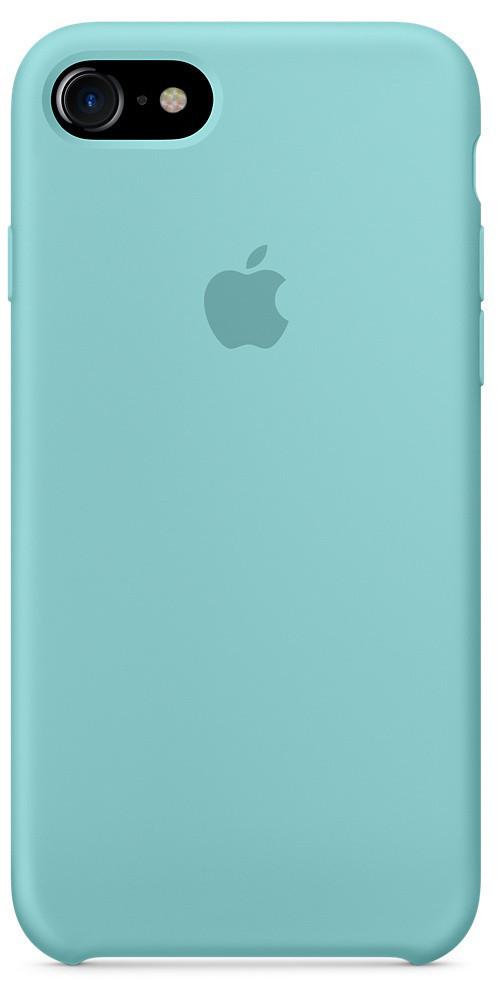 Оригинальный силиконовый чехол для iPhone 6 Plus / 6S Plus (Бирюзовый)