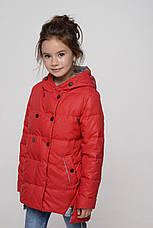 Детская осенняя куртка с ассиметричным низом Милена NUI VERY (нью вери), фото 2