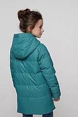 Детская осенняя куртка с ассиметричным низом Милена NUI VERY (нью вери), фото 3