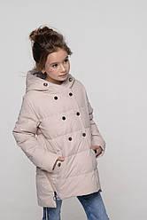Детская осенняя куртка с ассиметричным низом Милена NUI VERY (нью вери)