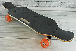 Скейт. Колеса СВЕТЯЩИЕСЯ PU d=6, 6 слоев канадского клена, подшипники ABEC-9, дека с ручкой С32024 Best Board