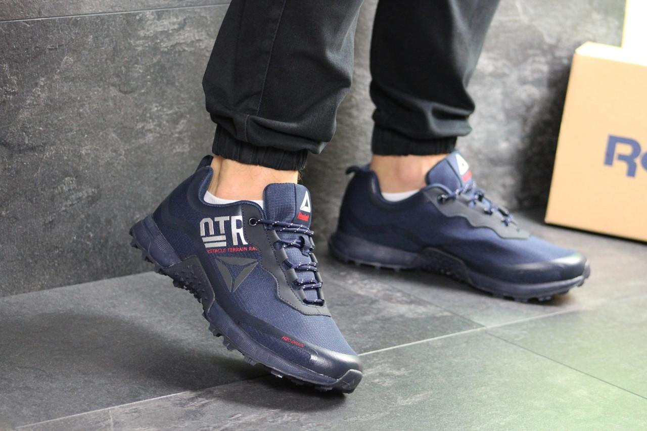 Мужские кроссовки Reebok H2o Drain (темно-синие)