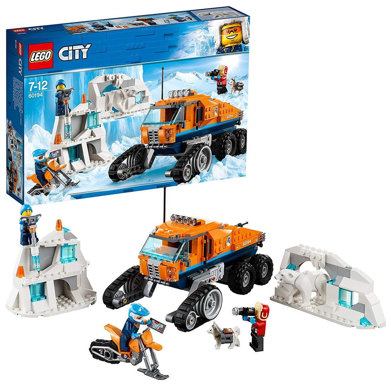 Lego City 60194 Scout Truck. Вантажівка льодової розвідки (Конструктор Лего Сити Грузовик ледовой разведки)