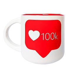 Чашка Чашка 100 k 350 мл