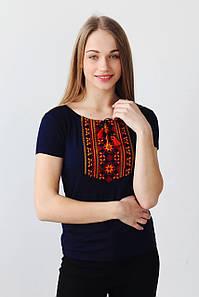 Вишита жіноча футболка КОЛОРИТ а-11