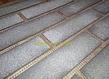 Кирпич гибкий из мраморной крошки (клинкер) многоцветный с красителем и посыпкой, с голографическим  эффектом, фото 3