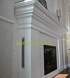 Кирпич гибкий из мраморной крошки (клинкер) в стиле кантри(хаотическая кладка), цвет КРЕМ, фото 8