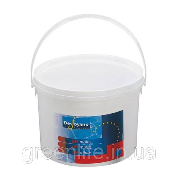 PH minus , Desjoyaux ,pH-минус в гранулах 5 кг