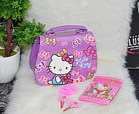Детский набор сумка и аксессуары Hello Kitty (Хелоу Китти).