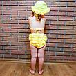 Купальник роздільний дитячий жовтий-161-05, фото 2