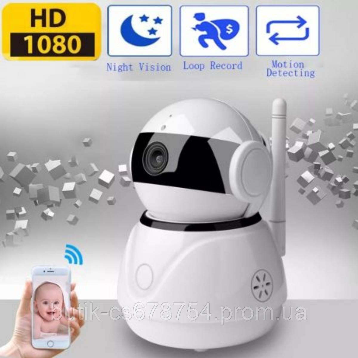 Wi-Fi IP camera Sannce 1080.поворотная,ночная съемка.