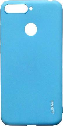Силикон для Huawei Y6 Prime (2018)/Honor7A Pro Blue Inavi, фото 2