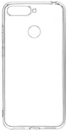 Силикон для Huawei Y7 Prime (2018)/Honor7C/7C Pro White 0.7mm Inavi, фото 2