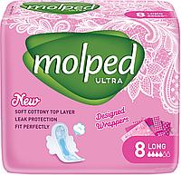 Гигиенические прокладки Molped Ultra Long 5 крапель 8шт