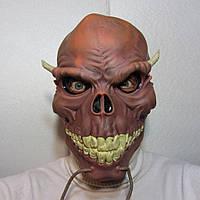 Маска Чорта карнавальна, чорт маска, інтернет магазин масок