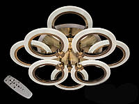 Потолочная LED-люстра с диммером и подсветкой, 95W, фото 1