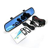 Автомобильный Видеорегистратор зеркало DVR A1 с двумя 2 камерамию Супер цена! Хорошие скидки!, фото 4