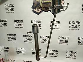 Нержавеющий Попугай для измерения крепости дистиллята или спирта. Способ подключение кламповое соединение., фото 3