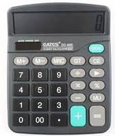 Калькулятор бухгалтерский Eates DC-838 (15х18см 12 разрядов 2питания солнце +батарейка) авт выключение