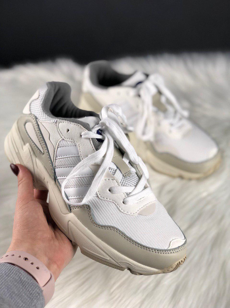 """Кроссовки Adidas Yung 96 """"Белые"""""""